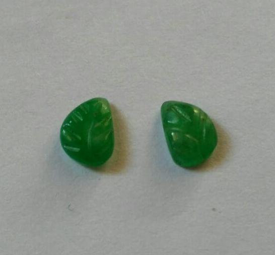 Natural  Emerald Pair For Earrings - 2.50 Carat total weight
