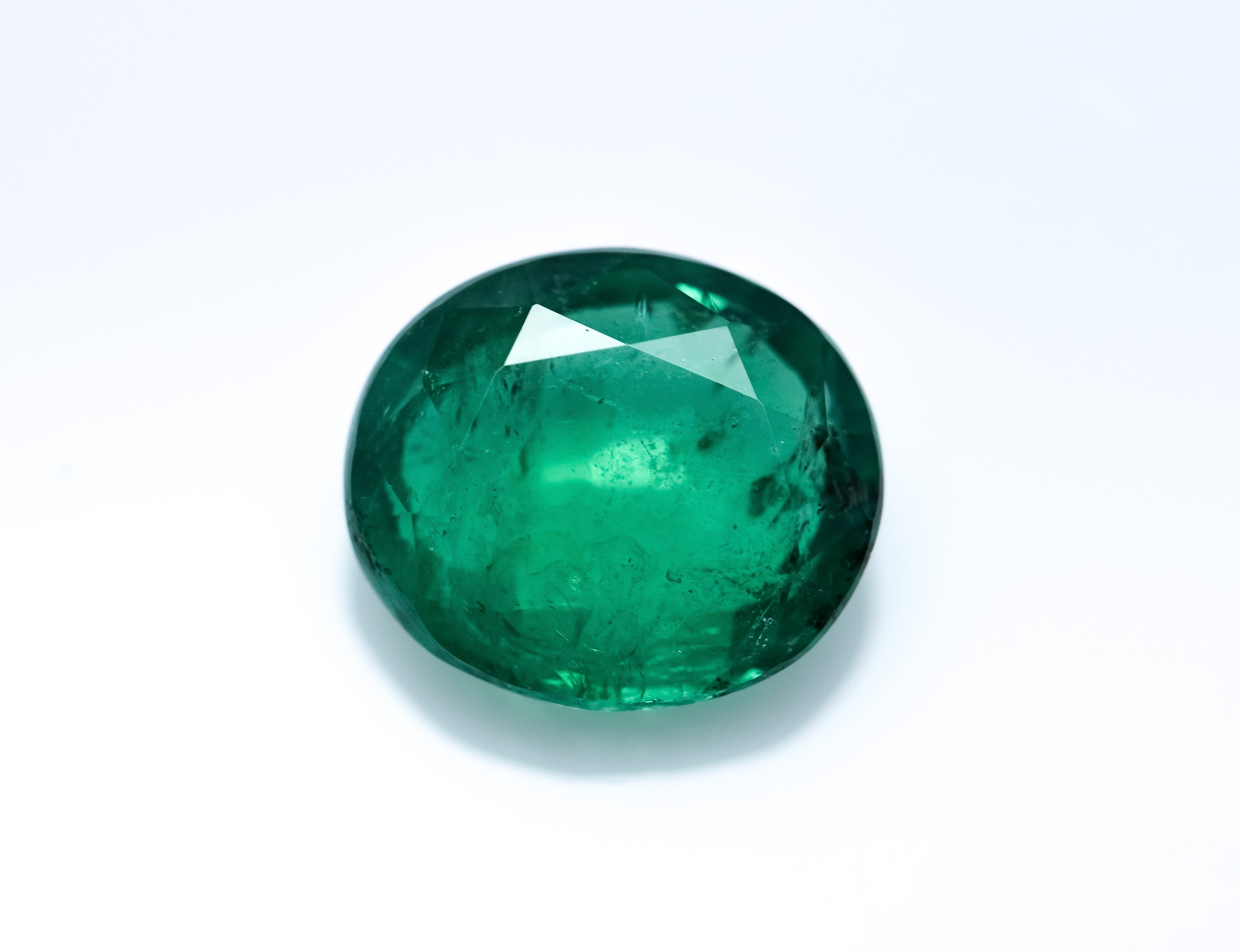 Natural Green Emerald Loose Gemstone -5.0 ct IGI Certified - oil only